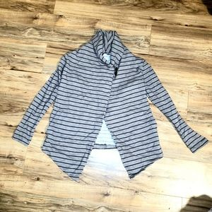 The North Face | Striped Fallsgrove Wrap Sweater